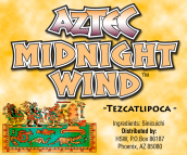 AZTEC MIDNIGHT WIND HERBAL INCENSE BLEND