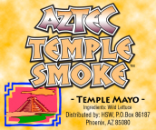 AZTEC TEMPLE HERBAL INCENSE BLEND