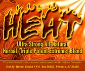 HEAT HERBAL INCENSE BLEND