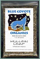 Buy Blue Coyote Organic Mullein at Demon-Smoke.Com