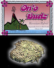 hawaiian herbal smoke, ono budz, Hawaiian smoking herb, on'o budz